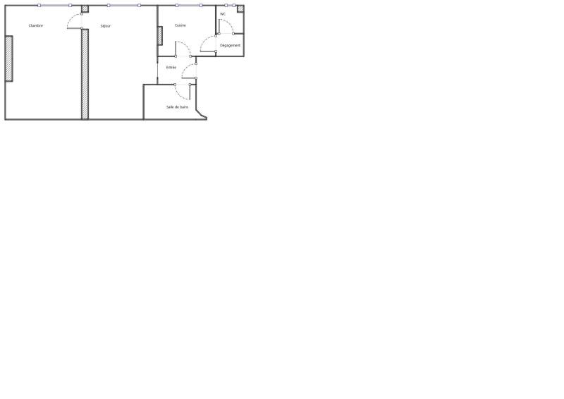 Plan 38m² Batinolles